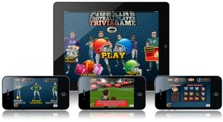 Pigskins Football Player Trivia Game
