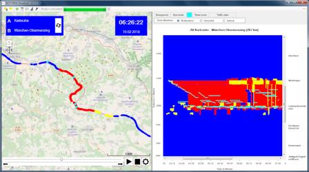 Visualisierung von Verkehrsinformationen
