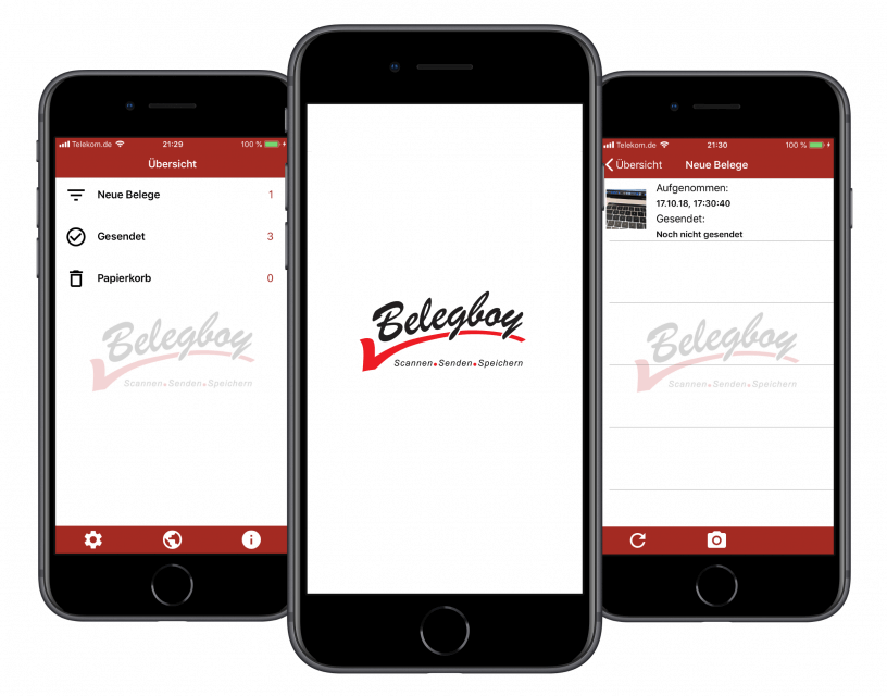 Mobile Apps - Belegboy