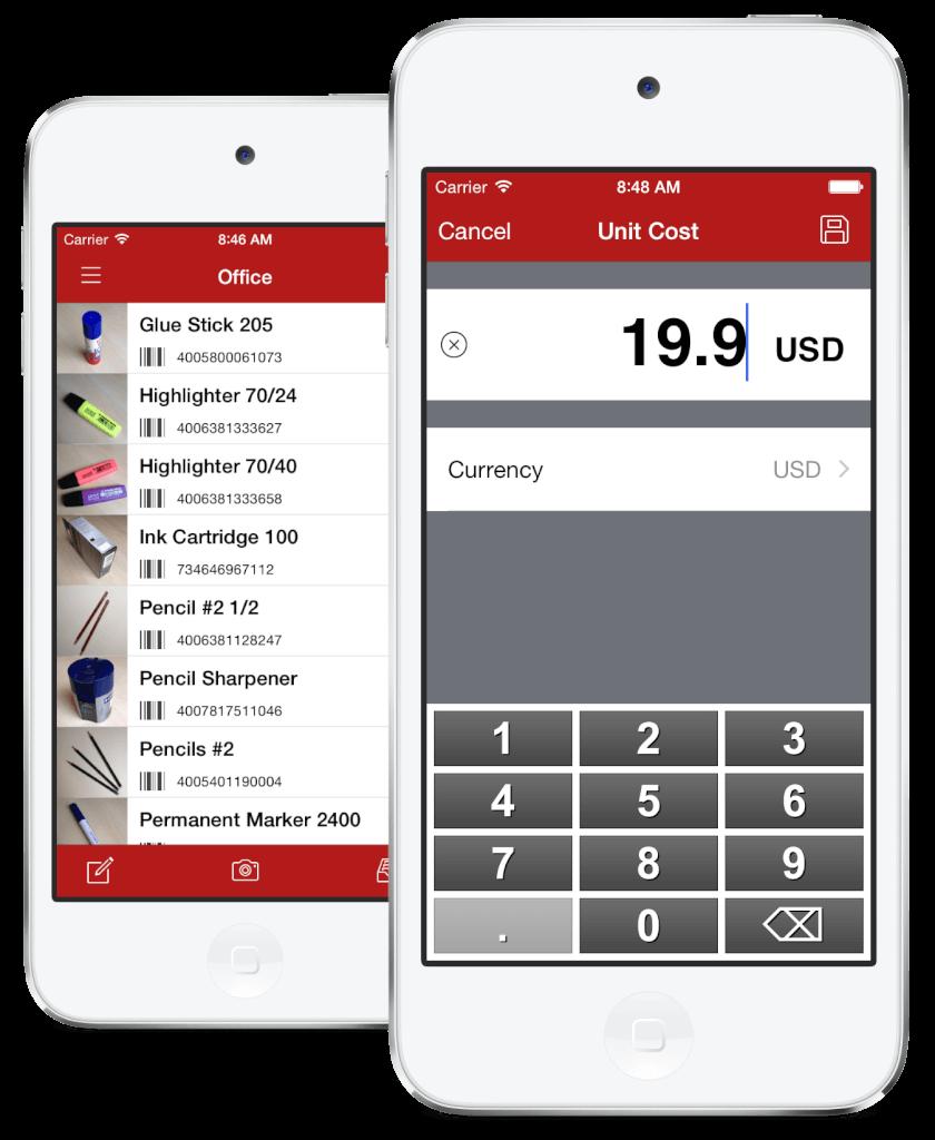 Inventory Scanner - Inventur-Scanner für mobile Geräte und Smartphones